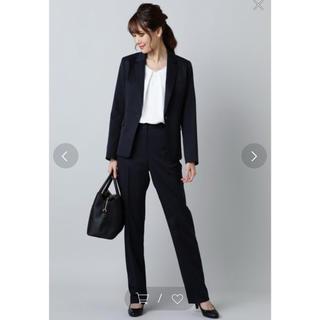 ナチュラルビューティーベーシック(NATURAL BEAUTY BASIC)のNATURAL BEAUTY BASIC パンツスーツ ネイビー(スーツ)