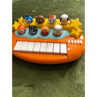 バンダイ(BANDAI)のアンパンマン ピアノ おそらでコンサート ベビー バンダイ(楽器のおもちゃ)