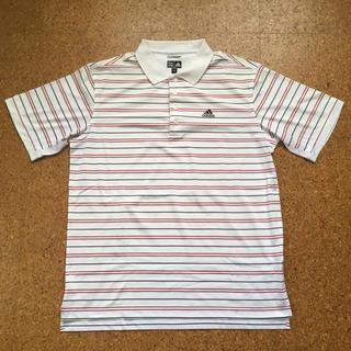 アディダス(adidas)のadidas メンズ ポロシャツ ボーダー(ポロシャツ)