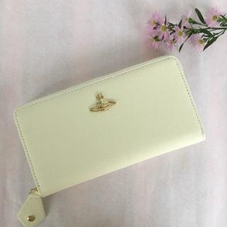 ヴィヴィアンウエストウッド(Vivienne Westwood)のヴィヴィアン ウエストウッド 長財布 小銭入れ 正規品 55306 ホワイト(財布)