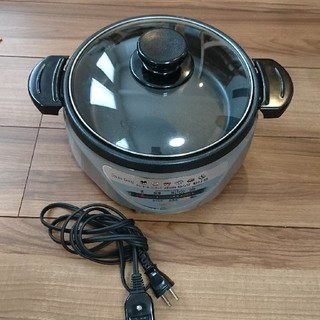 サンヨー(SANYO)のホットプレート 鍋 送料込みOK(ホットプレート)
