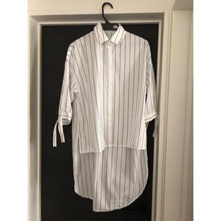シェルターオリジナル(Shel'tter ORIGINAL)の【三日間限定値下げ】RIM.ARK backflare shirt(シャツ/ブラウス(長袖/七分))