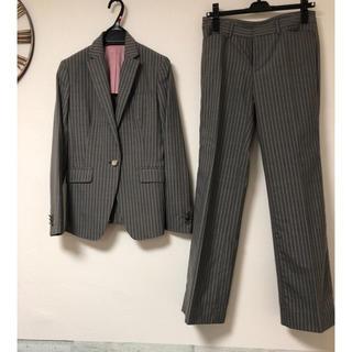 エムエフエディトリアル(m.f.editorial)の❤️再値下げ❤️ パンツスーツ オーダー ストライプ  レディース(スーツ)