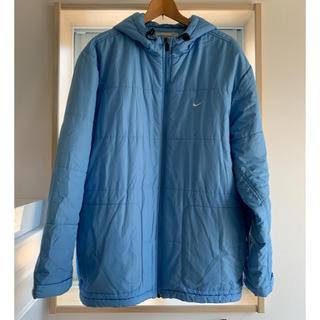 ナイキ(NIKE)のナイキ NIKE ダウンコート ブルー MENS L size(ダウンジャケット)