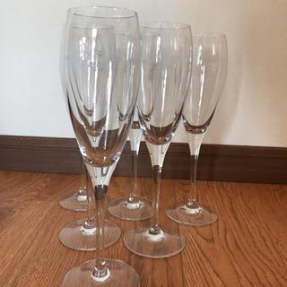 専用出品  モエシャンドン☆シャンパングラス5個セット  ワイングラス(シャンパン/スパークリングワイン)