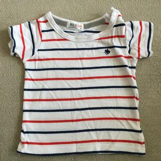 しまむら - POLO baby ボーダーTシャツ
