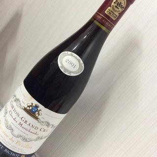ドメーヌ・デュ・パヴィヨン コルトンGC 2001 750ml(ワイン)