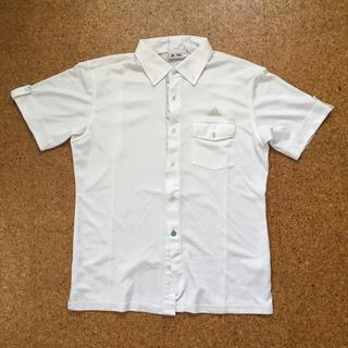 アディダス(adidas)のadidas ポロシャツ メンズ 白(ポロシャツ)
