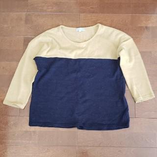 シマムラ(しまむら)のツートーン 薄手セーター(しまむら)sizeLL(ニット/セーター)