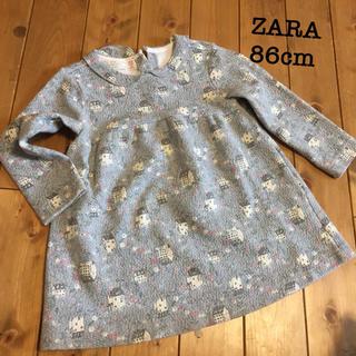 ザラ(ZARA)のZARA ワンピース 86cm(ワンピース)
