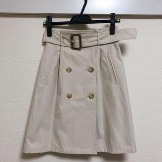 アンドクチュール(And Couture)の値下げ アンドクチュール トレンチスカート(ひざ丈スカート)