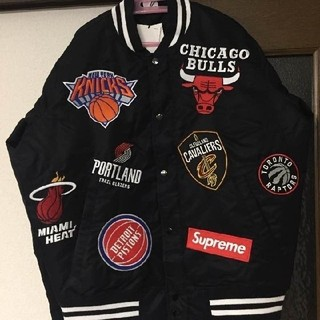 シュプリーム(Supreme)のL Supreme Nike NBA Teams Warm-Up Jacket(スタジャン)