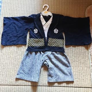 袴 ロンパース 90cm(和服/着物)