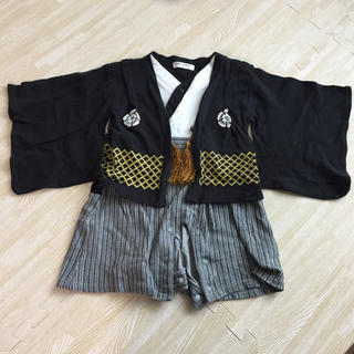 袴ロンパース 男の子服(和服/着物)