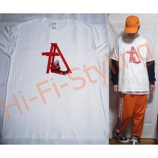 ビリーアイリッシュ Billie Eilish Tシャツ XXLサイズ 白(Tシャツ/カットソー(半袖/袖なし))