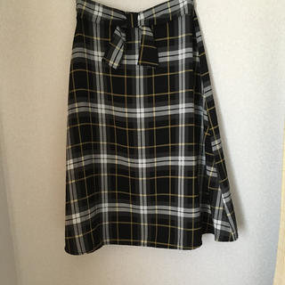 しまむら - 新品 チェック柄スカート