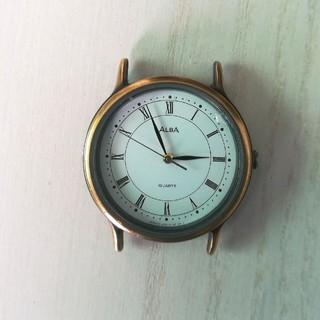アルバ(ALBA)の【ALBA】メンズ クォーツ時計 電池交換済み (腕時計(アナログ))