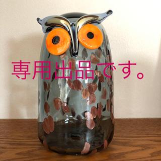イッタラ(iittala)の専用出品です。イッタラ バード LONG EARED OWL(置物)