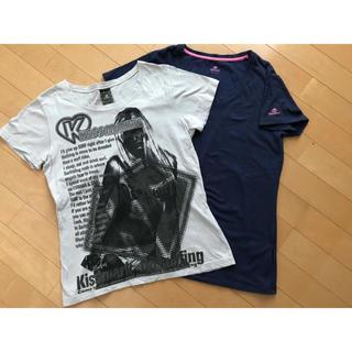 キスマーク(kissmark)のキスマーク Tシャツ2枚(Tシャツ(半袖/袖なし))