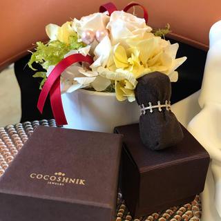 ココシュニック(COCOSHNIK)の限定値下げ   ココシュニック  ダイヤリング(リング(指輪))