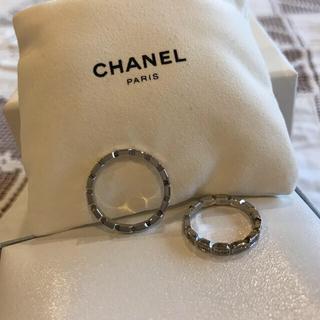 シャネル(CHANEL)のCHANELシャネル♡リング2個♡プルミエールプロメスエタニティリング♡ダイヤ♡(リング(指輪))