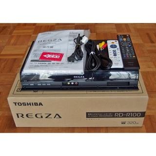 トウシバ(東芝)の東芝HDDレコーダー RDーR100  取説元箱付き完動美品 1万円!(DVDレコーダー)