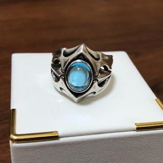 エムズコレクション(M's collection)の23号 エムズコレクション ブルートパーズ 天然石 シルバー925 リング(リング(指輪))