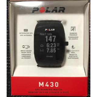 ポラール(POLAR)のPOLAR M430(GPSランニングウォッチ)(その他)