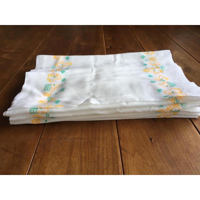 西松屋(ニシマツヤ)の新品未使用♡布おむつ 6枚セット ひよこ柄 キッズ/ベビー/マタニティのおむつ/トイレ用品(布おむつ)の商品写真