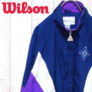 ウィルソン(wilson)のウィルソン ナイロンジャケット 90s ヴィンテージ スポーツMIX(ナイロンジャケット)