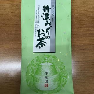 イトウエン(伊藤園)の伊藤園 特濃みどりのお茶100g(茶)