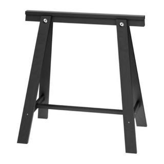 イケア(IKEA)の【新品未使用】IKEA ODDVALD テーブル架台ブラック 1セット4個(その他)
