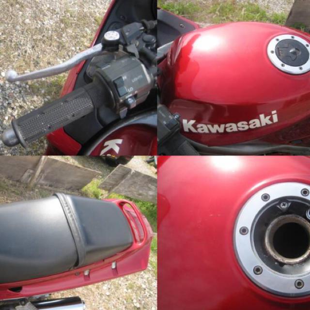 カワサキ(カワサキ)の【自賠責たっぷり】ZZR250 車体 自動車/バイクの自動車(車体)の商品写真