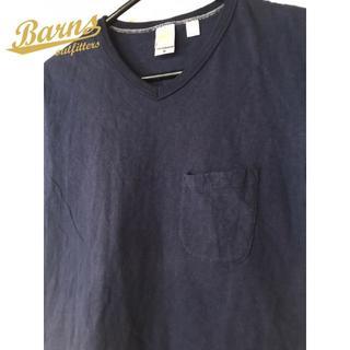 バーンズアウトフィッターズ(Barns OUTFITTERS)のバーンズ アウトフィッターズ VネックTシャツ(Tシャツ/カットソー(半袖/袖なし))