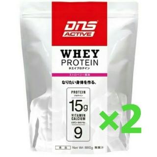 ディーエヌエス(DNS)のドーム ホエイプロテイン ストロベリー風味 2袋セット(プロテイン)