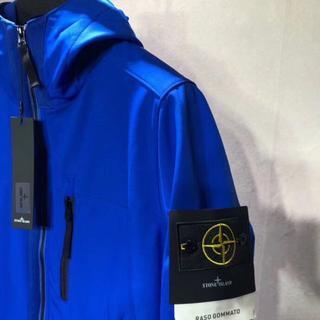 ジャケット ブルー lサイズ あさ(レザージャケット)