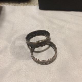 マルタンマルジェラ(Maison Martin Margiela)のモルガンリング  二連セット  (リング(指輪))