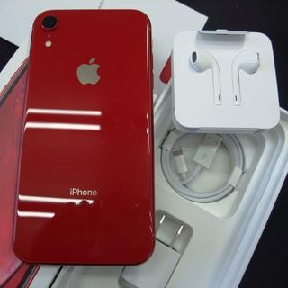 アップル(Apple)のSIMフリー docomo iPhone XR 128GB ProductRed(スマートフォン本体)