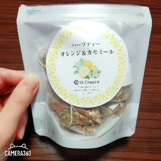 紅茶 ハーブ ハーブティー オレンジ カモミール サンクゼール 茶 新品 セール(茶)