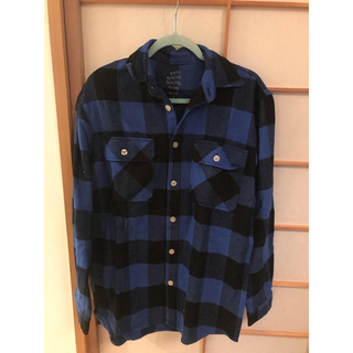 アンチ(ANTI)のAnti social social club ネルシャツ s size(シャツ)