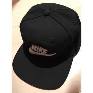 ナイキ(NIKE)の新品 NIKE キャップ  黒 kids(帽子)