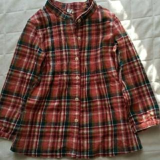 ユニクロ(UNIQLO)のユニクロ シャツ 120センチ 女の子用(ブラウス)
