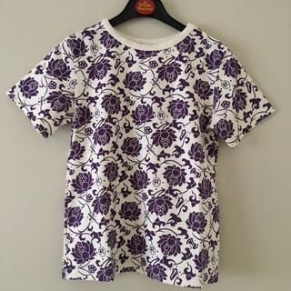 ロウロウ(ROUROU)の【お値下げ】新品   ROUROU ロータスプリントTシャツ (カットソー(半袖/袖なし))