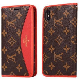 buy online 84016 7df83 ヴィトン(LOUIS VUITTON) 黒 iPhoneケース(ブラウン/茶色系)の ...
