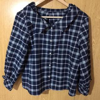 アメリエルマジェスティックレゴン(amelier MAJESTIC LEGON)のチェックシャツ(シャツ/ブラウス(長袖/七分))