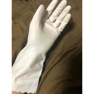 使用済みゴム手袋(手袋)