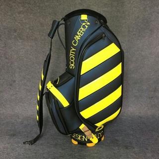 タイトリスト(Titleist)の【TITLIST・タイトリスト】 ゴルフスタンドバッグキャディバッグ灰色+黄色(バッグ)