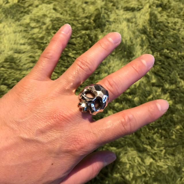 GARNI(ガルニ)のjbスカルリング  17号 メンズのアクセサリー(リング(指輪))の商品写真