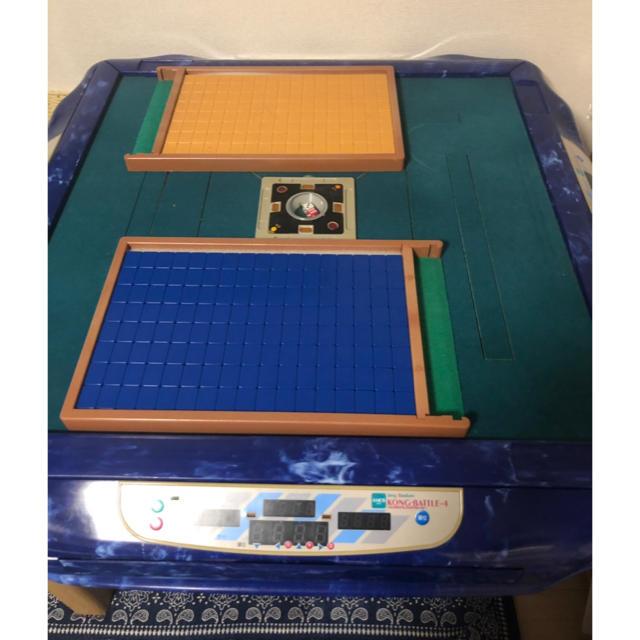AMOS(エイモス)の点数表示付き全自動麻雀卓 エンタメ/ホビーのテーブルゲーム/ホビー(麻雀)の商品写真