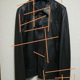 ディオールオム(DIOR HOMME)のDior homme レザージャケット46黒‼️(レザージャケット)
